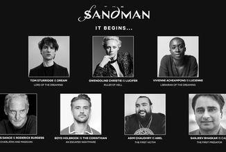 Netflix odhalil herecké obsazení seriálové adaptace Sandmana