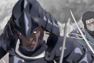 Černošský samuraj Yasuke na výpravě proti mechům a magii