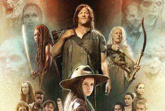Kniha The Art of AMC's The Walking Dead Universe nabídne obsah ze všech seriálů Živí mrtví