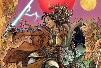 Komiks Star Wars: The High Republic Adventures se ukazuje na prvních obrázcích