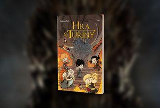 Kniha plná parodických výjevů ze seriálu Hra o trůny