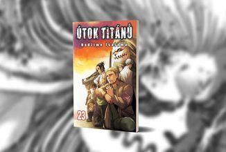 Dark fantasy manga Útok titánů přichází se svým 23. svazkem