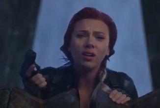 Podívejte se na alternativní poslední scénu s Black Widow z Avengers: Endgame