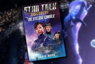 Vychádza Star Trek Discovery kniha Nejtěžší chvíle, ale aj nové Short Treky