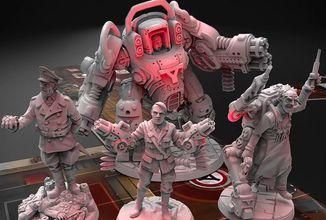 Deskovka Wolfenstein míří na Kickstarter