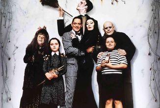 Tim Burton pracuje na live-action seriáli o rodine Addamsovcov