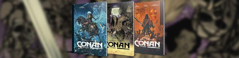 Třetí svazek Conana z Cimmerie už má své obálky