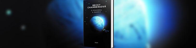 Novela S pokorou a nadějí představuje zajímavý pohled na blízkou budoucnost