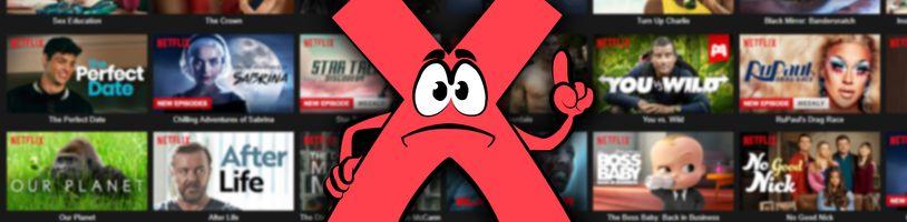 Netflix ruší neaktívne účty, chcú ušetriť peniaze užívateľov