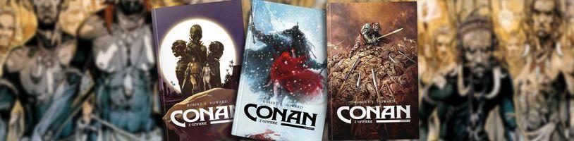 Legendární Barbar Conan přichází v komiksovém svazku Conan z Cimmerie 2
