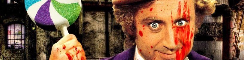 Pozrite si poriadne krvavú verziu Willyho Wonku a továrne na čokoládu