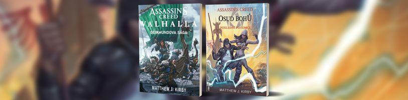 Český literární trh se rozroste o dvě nové knihy ze světa Assassin's Creed