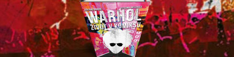 Ukázka bohémského života umělce Andyho Warhola ve stejnojmenném komiksu