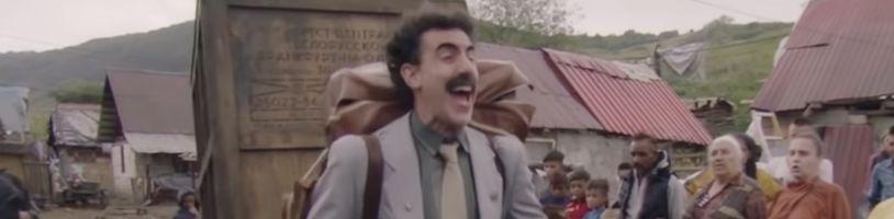 Borat je späť a nesie si nečakanú výpomoc