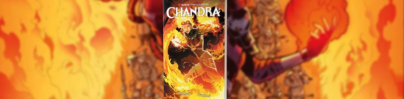 Nový komiks Magic the Gathering: Chandra
