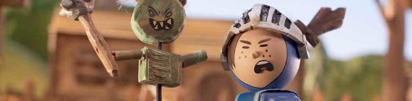 Vtipný vulgárny stop-motion animák Crossing Swords v launch traileri