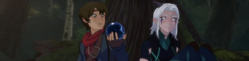 Obľúbený animák Dračí princ dostáva vlastné stolné RPG