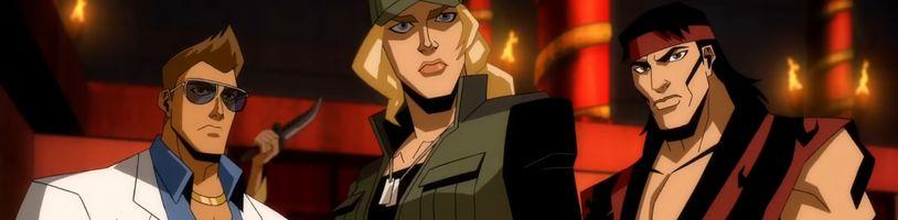 Mortal Kombat Legends: Scorpion's Revenge predstavuje Johnnyho Cagea