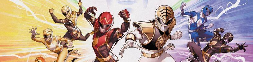 Masivní šestisvazková komiksová série Mighty Morphin Power Rangers na Kickstarteru