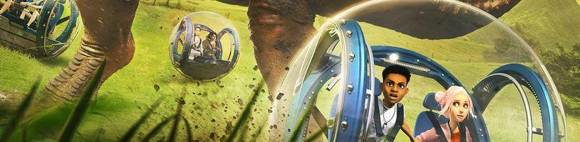 Camp Cretaceous má nový trailer, plagát ale aj webstránku