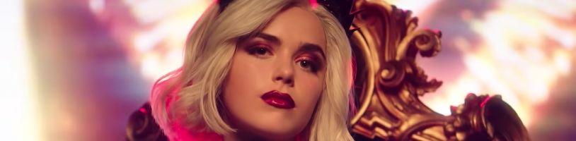 Shrnutí hlavního traileru na třetí sérii seriálu Sabrina