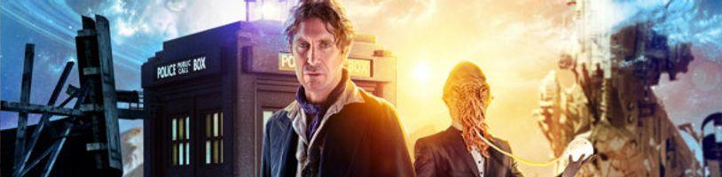 Nové fotky a podrobnosti z Doctor Who: Time Lord Victorious. Čaká nás návrat klasického Mastera