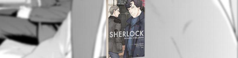 Holmes musí čelit Irene Adlerové v novém komiksu