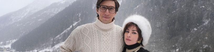 Lady Gaga v čele vražedného spiknutí proti manželovi a dědici módní značky Gucci