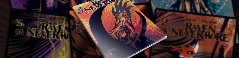 Sedmý díl dark fantasy komiksu Raven Nevermore míří na Kickstarter