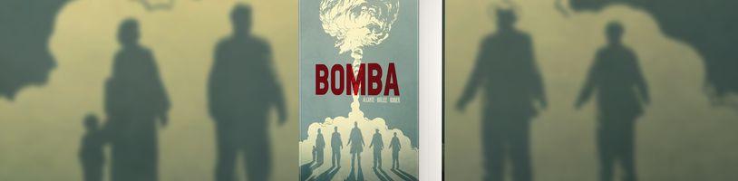 Mohutná komiksová sága Bomba představuje čtenářům události vedoucí k odpálení první jaderné bomby