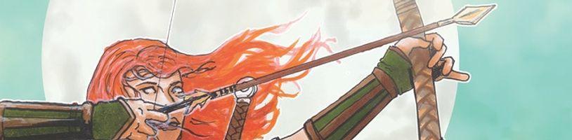 Bronwyn - The Further Adventures je novou komiksovou značkou, která se inspiruje keltskou mytologií