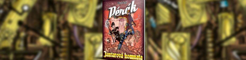 Český superhrdina Pérák sa vracia v Jantarové komnatě
