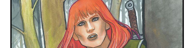 Komiksová série o keltské válečnici Bronwyn se nejspíše dočká druhého sešitu