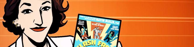 Čo majú spoločné Amy z Teorie velkého tresku a Flash? Vysvetľujú vedu v novom komikse