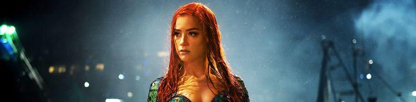 Amber Heard údajne prišla o rolu Mery v druhom Aquamanovi