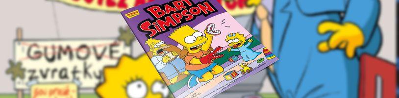 Spousta rošťáren v březnovém čísle komiksové série Bart Simpson