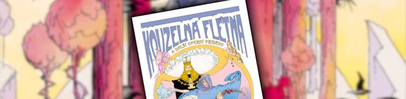 Comics Centrum vydalo adaptaci operní klasiky Kouzelná flétna