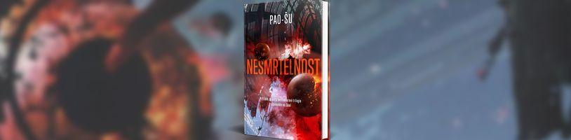 Román Nesmrtelnost rozvíjí svět sci-fi trilogie Vzpomínka na Zemi