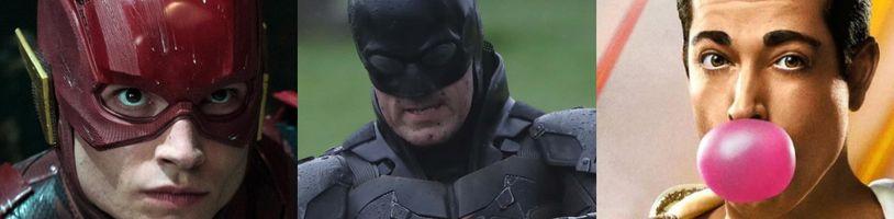 Batman, Shazam a Flash mají nová data premiéry. Proč půjde Flash do kin o měsíc dřív?