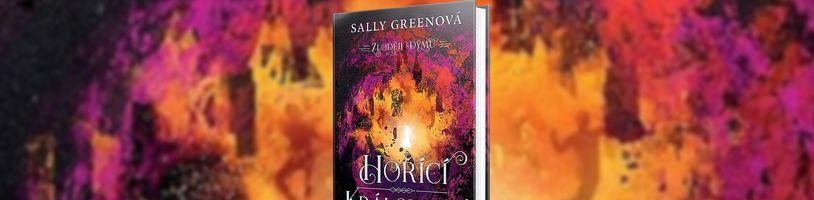 Fantasy román Hořící království by měl ukončit oblíbenou sérii s názvem Zloději dýmu