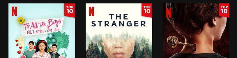 Netflix začal zveřejňovat žebříčky sledovanosti. Na co se kouká v ČR?