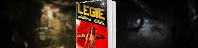 Pokračování české space opery Legie s podtitulem Amanda ukazuje, jak se má dělat správné akční sci-fi