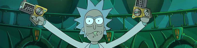Rick a Morty sa zrejeme pustia do Promethea i Hviezdnych vojen