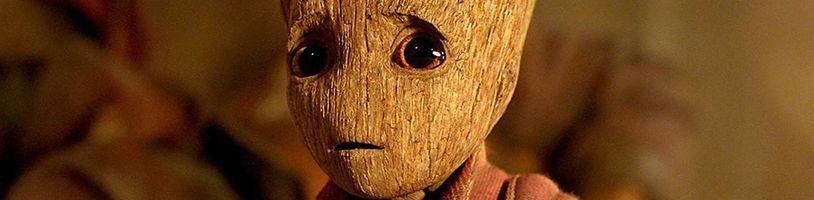 """Disney má """"živého"""" pohybujúceho sa robotického Baby Groota"""