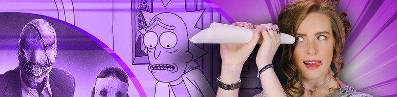 Rick a Morty na HBO GO a návrat upírů do Castlevanie