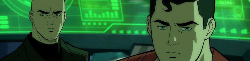 Nový animovaný Superman: Man of Tomorrow na prvom obrázku