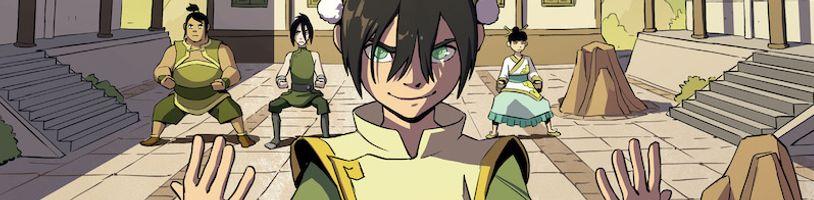 Toph z Avatara sa dočká vlastného grafického románu