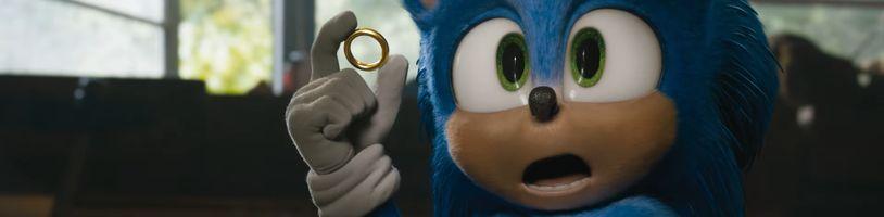 Filmový Sonic má nový trailer a konečne vyzerá správne