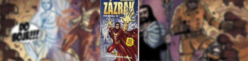 První český superhrdina Zázrak dostává svůj plnohodnotný první svazek