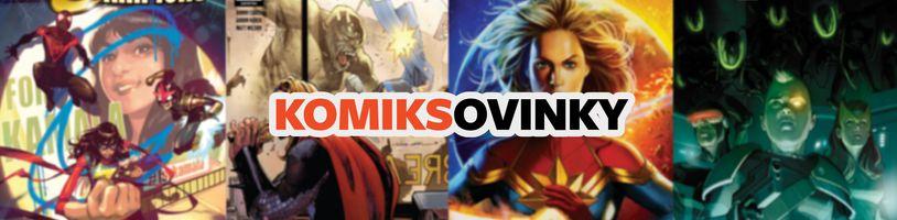 KOMIKSOVINKY: Marvel pre október/říjen 2020, časť 1
